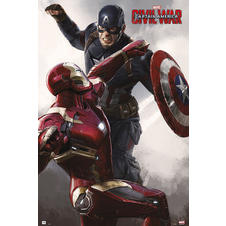 Marvel Captain America - Civil War Poster