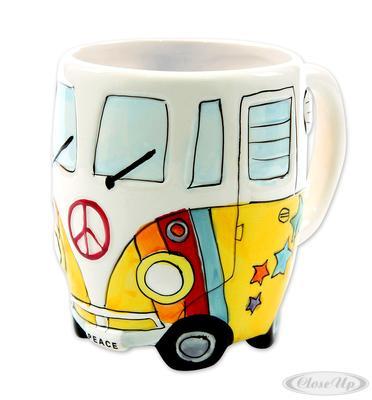 Camper Bus Tasse Peace Wohnmobil Tasse