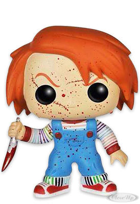 Child´s Play Pop! Vinyl Figur Bloody Chucky