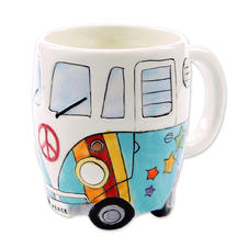 Camper Bus Tasse Peace