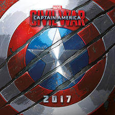 Calendar 2017 - Marvel Captain America Civil War