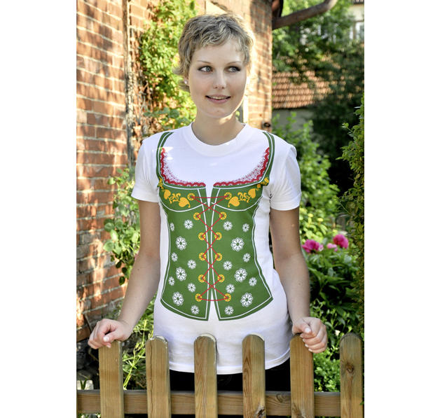 DIRNDL GIRLIE SHIRT
