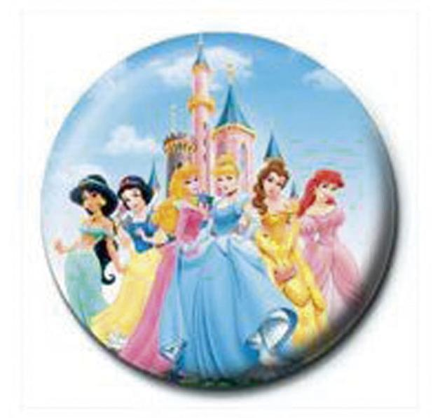 Disney Princess Button