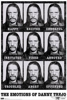 Danny Trejo Poster Emotions