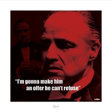 The Godfather - Art print