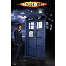 Doctor Who Poster Glow-In-The-