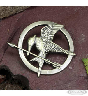 The Hunger Games brooch