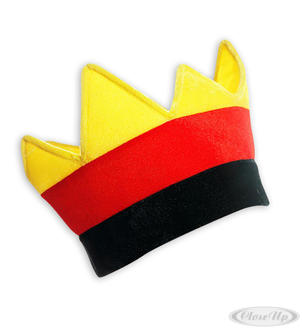 Germany crown crazy hat