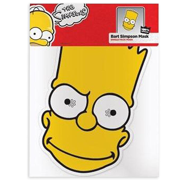 Die Simpsons Party-Maske Bart