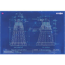 Doctor Who Poster Dalek