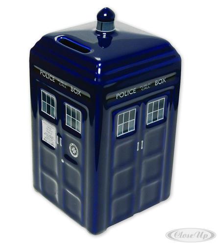 Doctor Who Spardose Tardis aus Keramik