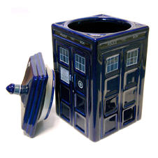 Doctor Who Keksdose Tardis