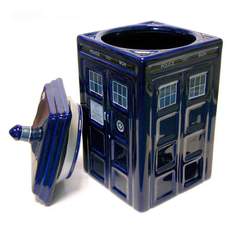 Coole doctor who keksdose im fanshop g nstig bestellen - Tardis ceramic cookie jar ...