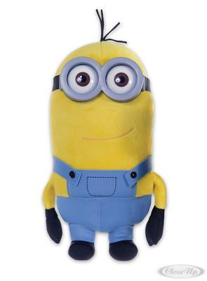 Minions 3D Deluxe Plüschfigur Tim mit Kunststoffbrille   Kinderzimmer > Spielzeuge > Stofftiere   Gelb
