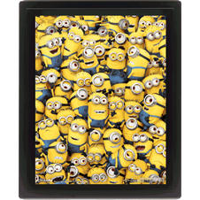Despicable Me 3D Poster Ich -