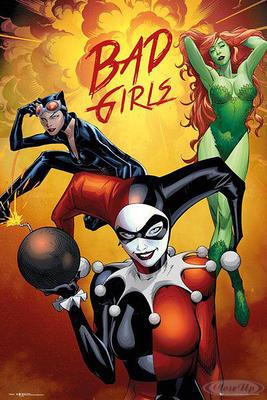 DC Comics Poster Bad Girls