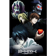 Death Note Poster Characters