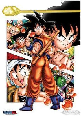 Dragon Ball Poster Son Goku Story