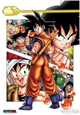 Dragonball Poster Son Goku Story