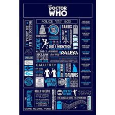 Doctor Who Poster Infographic