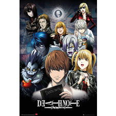 Death Note Poster Collage