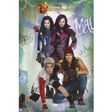 Descendants Poster Charaktere