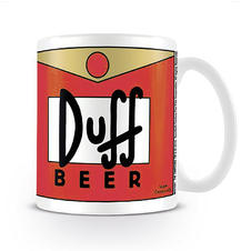 Die Simpsons Tasse Duff Beer