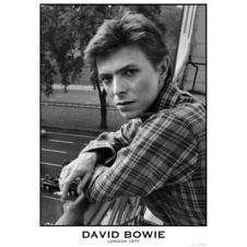 "David Bowie ""London 1977"" Poster"
