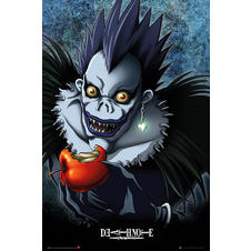 "Death Note ""Ryuk with an apple"" Poster"