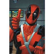 Deadpool Poster Thumbs Up