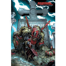 "Marvel Comics Deadpool ""Grave"" Poster"