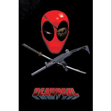 Deadpool Poster Eye Patch