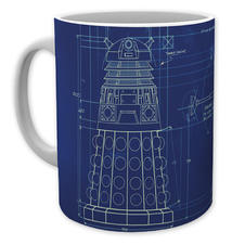 Doctor Who Tasse Dalek