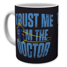 Doctor Who Tasse Trust Me