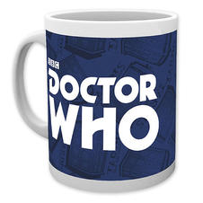 Doctor Who Tasse Logo