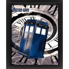 Doctor Who 3D Poster Tardis