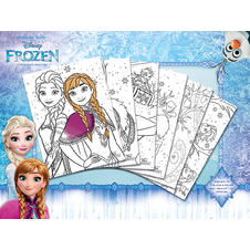 "Disney ""Frozen"" Colouring Poster (6 pieces)"
