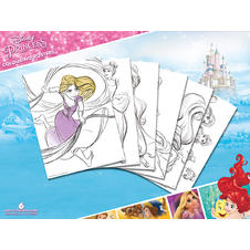 "Disney Frozen ""Princess"" Colouring Poster (6 pieces)"
