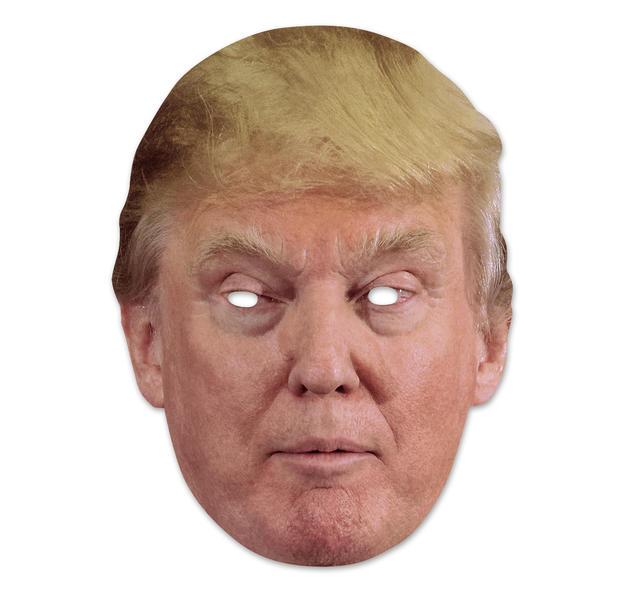 Die Maske von den Parasiten auf der Person
