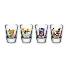 "DC Comics ""Gotham Girls"" 4pc Shot Glass Set"