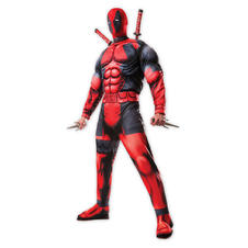 Deadpool Jumpsuit Deluxe with mask