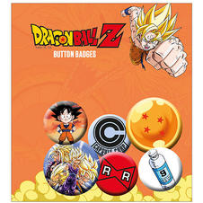 Dragonball Z Button set
