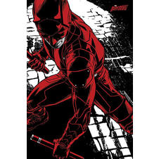Marvel Daredevil Series Fight Poster -