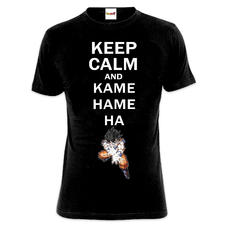 Dragonball Z T-Shirt Keep Calm
