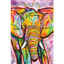 Dean Russo Poster Elephant