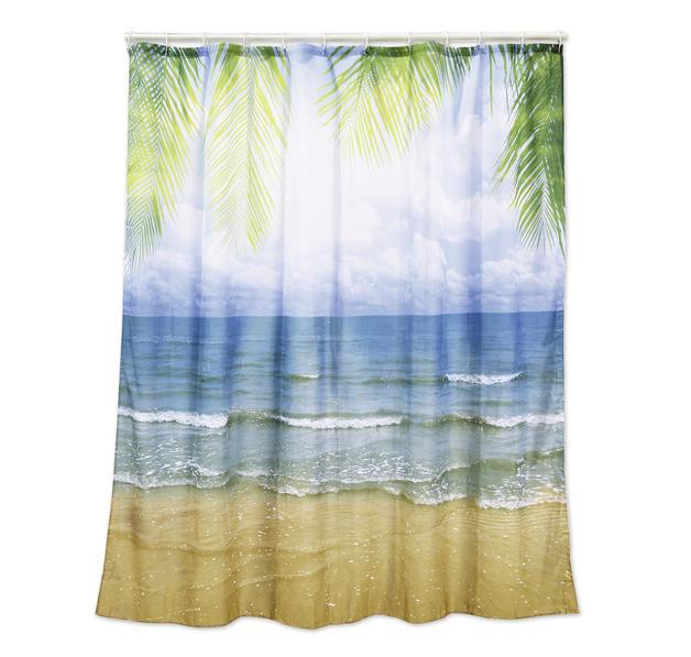 duschvorhang beach bei close up im online store bestellen. Black Bedroom Furniture Sets. Home Design Ideas