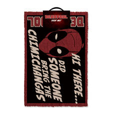 Marvel Deadpool Doormat - Chimichangas