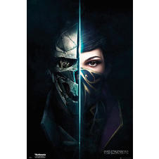 Dishonored 2 Poster Faces