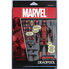 Deadpool Poster Actionfigur