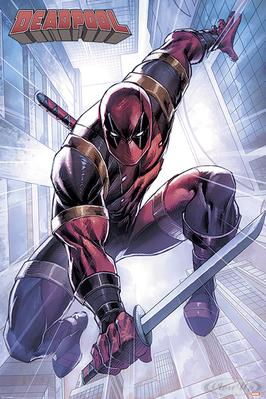 Deadpool Poster Action Pose